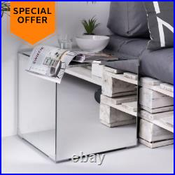 Bedside Table with Smart Storage Bedroom Room Cabinet Nightstand Contemporary