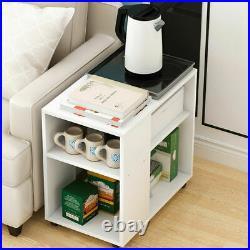 Bedside Tables Cabinet Storage Side Bedroom Furniture Wooden Chest of 2 Drawers