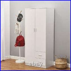 Chest of 3 4 5 6 Drawers 2,3 Door Wardrobe Bedside Table Bedroom Storage Cabinet