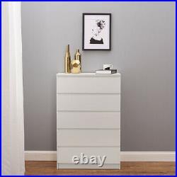 Chest of 3 4 5 Drawers Bedside Table Cabinet 2, 3 Door Wardrobe Bedroom Storage