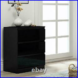 Chest of Drawers Wide Bedroom Furniture Cabinet 2 3 4 5 6 8 Draws Tall Storage