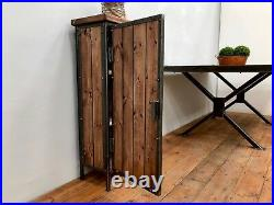 Industrial Style Cabinet Cupboard Bedside Table Night Stand Storage