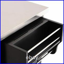 Kitchen Cart Island Butchers Block Table Trolley Storage Cabinet Cupboard Unit