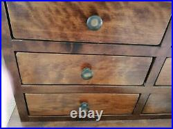 Laura Ashley Garrat Chestnut, 12 Drawer Coffee Table and Storage