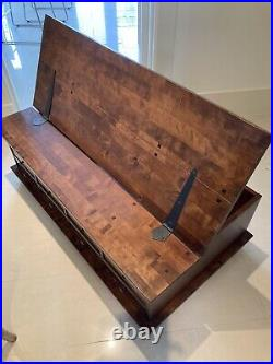 Laura Ashley Garret chestnut 12 Drawer Coffee Table with Hinged top storage box