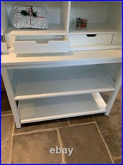 Martha Stewart Wrapping Tables Art Craft Storage Cabinets Shelf Console White