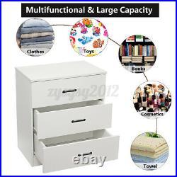 Modern Chest of Drawers Bedside Table Cabinet 6 Drawer Bedroom Storage