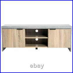 Modern Console Table Wooden TV Sideboard Storage Unit Shelves Cupboard Cabinet