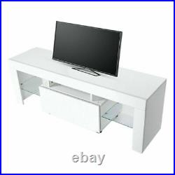 Modern LED TV Stand Cabinet Unit Media Storage Console Cupboard Table 130cm