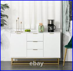 Modern Storage Sideboard White Console Table Large Side Cabinet Cupboard Unit