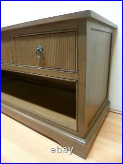 New Stylish Walnut 3 Drawer TV Unit Stand Cabinet Hall Table Furniture Store