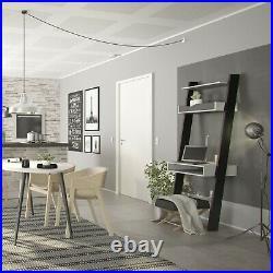 Scandi Style Furniture Retro Cabinets Desk Table Storage White with Oak or Black