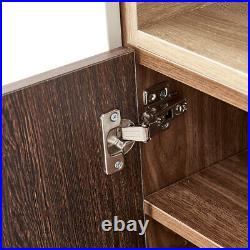 Storage Cabinet Sideboard Table Stand Cupboard Organiser with Door Entryway Home