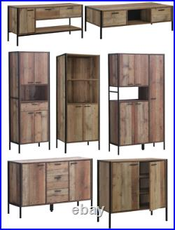 Stretton Home Furniture Tall Cabinet Sideboard TV Unit Bookcase Coffee Table Set