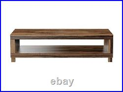TV Stand Solid Wood Storage Unit Coffee Table Media Cabinet Handmade Furniture