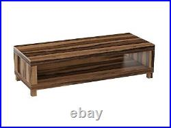 TV Stand Unit Storage Coffee Table Media Cabinet Shelf Solid Wood Living Room