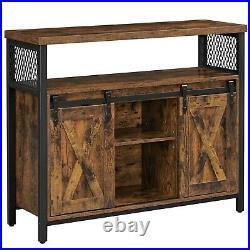 VASAGLE Dining Sideboard Kitchen Cupboard Storage Cabinet Buffet Table LSC092B01