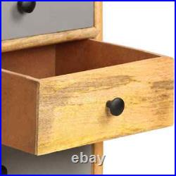 VidaXL Solid Mango Wood Sideboard 110x30x82cm Cabinet Storage Dresser Table