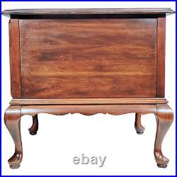 Vintage ETHAN ALLEN Georgian Court Square Storage Cabinet End Side Table 11-8165