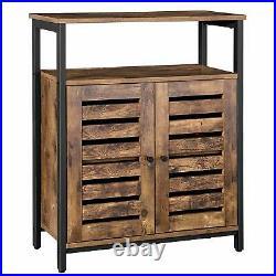 Vintage Industrial Cupboard Cabinet Rustic Sideboard Storage Unit Side Table
