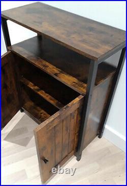 Vintage Industrial Sideboard Rustic Cabinet Cupboard Storage Unit Console Table