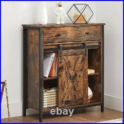 Vintage Industrial Sideboard Storage Cabinet Cupboard Console Table Retro Metal