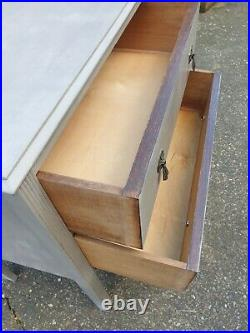 Vintage Washstand Table Storage Chest Of Drawers Cupboard Cabinet Can Deliver