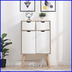 WestWood Sideboard Cabinet Side Table Chest Cupboard Drawer Hallway Storage Wood